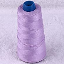 5pc 3000yard/cone Large Cones Cotton Thread Quilting Serger I0066 (Lilac)