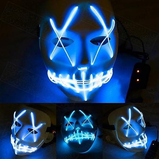 ASD&F Máscara De Luz,máscara De Halloween Yostyle,máscara De Traje ...