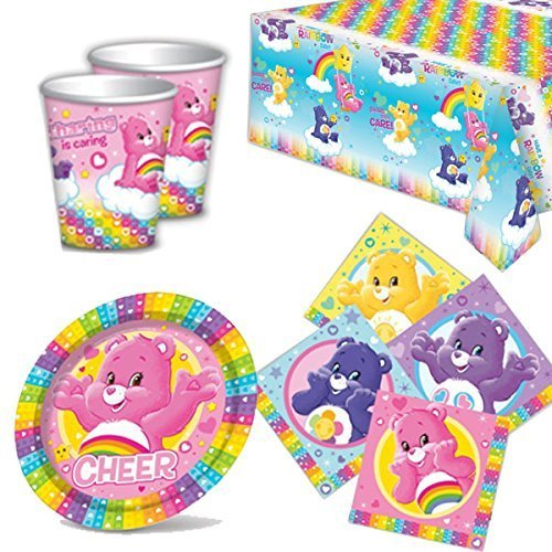 Care Bears Party Tableware Pack for 8