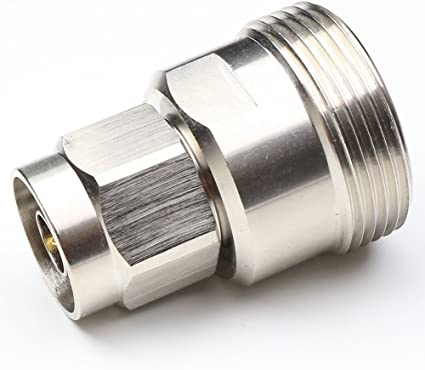 DIN 7//16 L29 Male Plug Type to Din L29 7//16 Female Jack RF Coaxial Adapter F//M