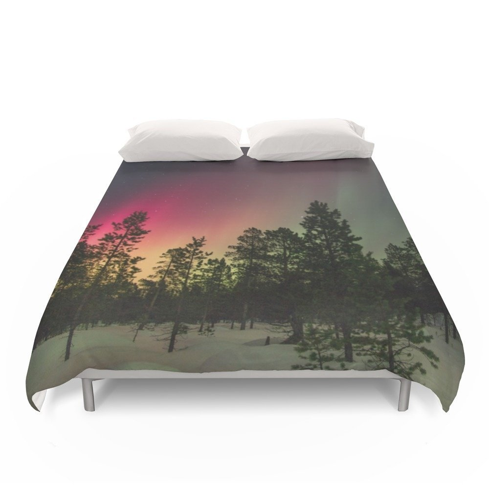 Society6 Into The Woods Duvet Covers Full: 79'' x 79''