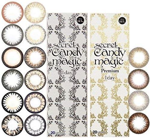 シークレットキャンディーマジック candymagic 1day ワンデー 【1箱20枚入】 NO.5ブラック -3.75