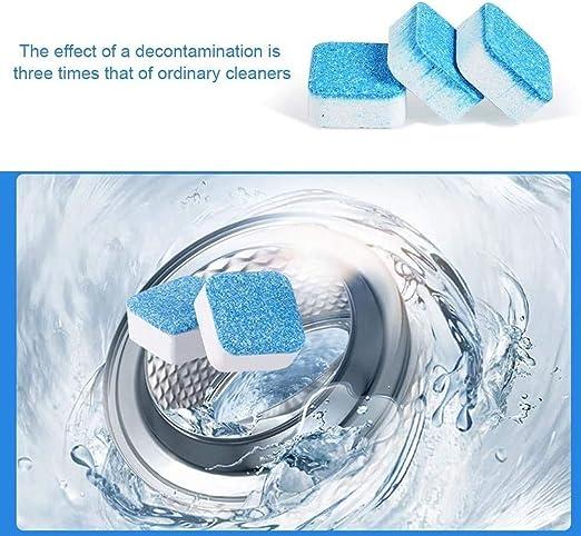 Surfilter Limpiador de tabletas efervescentes para Lavadora, Limpiador para Lavadora Descalcificador de Limpieza Profunda Eliminador de Manchas y olores Profesional para el hogar (24 Piezas): Amazon.es: Coche y moto