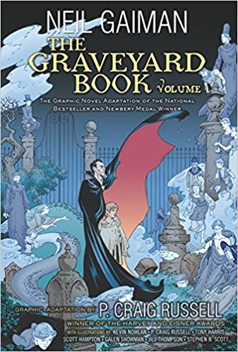 Image result for the graveyard book graphic novel