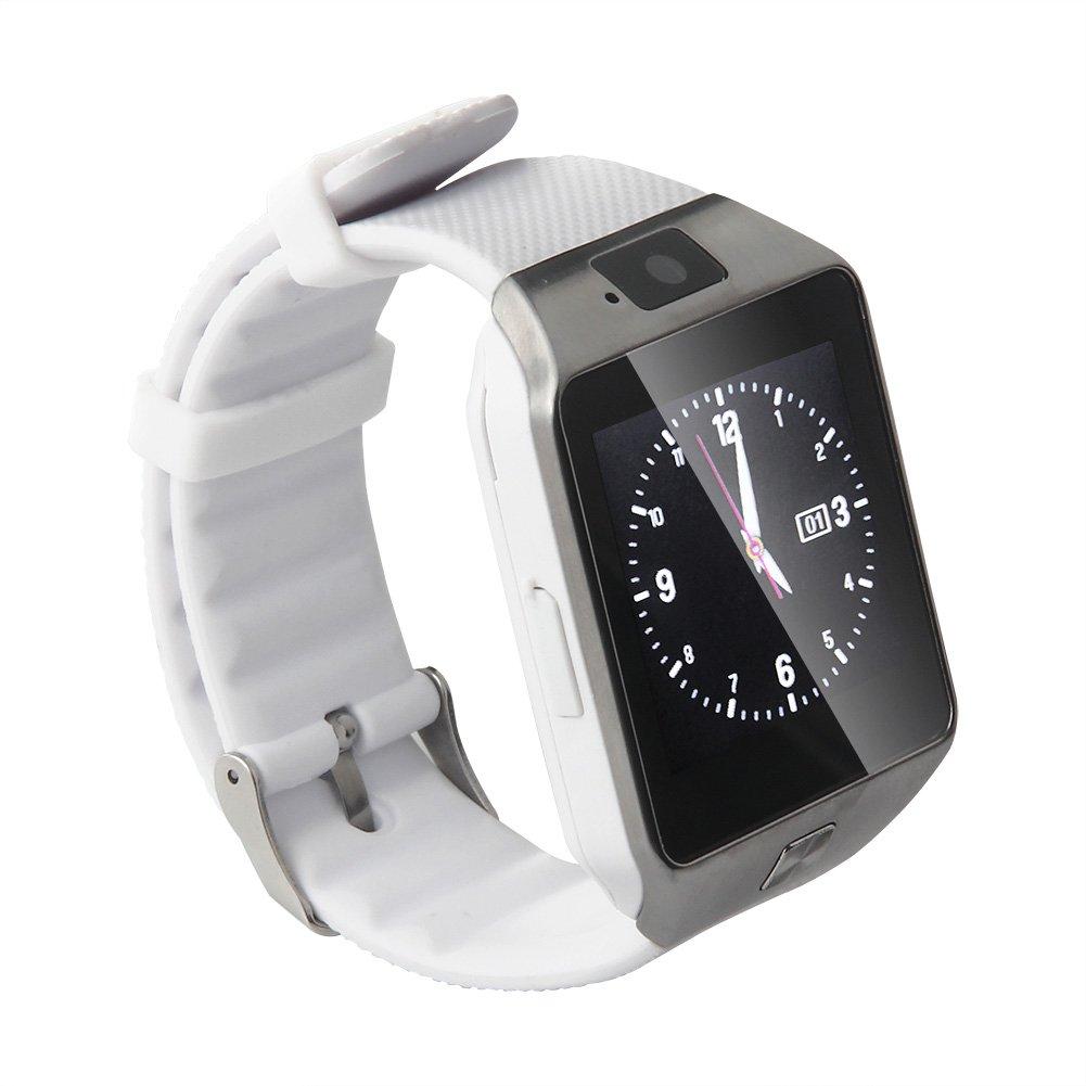 genorth® última DZ09 Gear Bluetooth SmartWatch Reloj de pulsera SIM reloj teléfono con cámara podómetro anti-lost recordatorio de llamadas teléfono