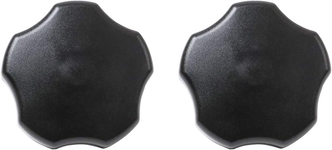 KOLEMO 2 PCS Soft Top Door Surround Knob kits with Pin For 1997-2018 Jeep Wrangler TJ//JK