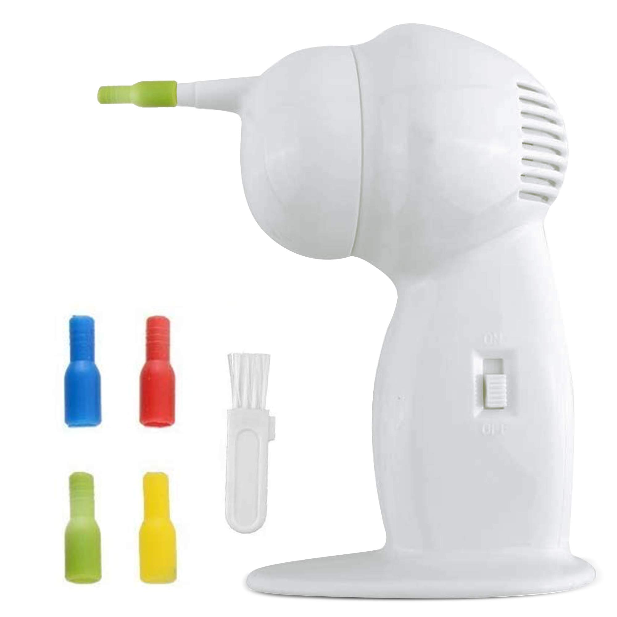Ear Wax Vacuum, Ear Wax Removal, Ear Wax Suction, Safe and Effective Ear Cleaner for Adults & 5+ Kids