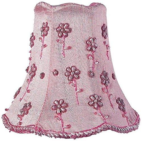 Daisy Pearl Chandelier Shade - Jubilee Collection 2171 Daisy Pearl Chandelier Shade, Pink