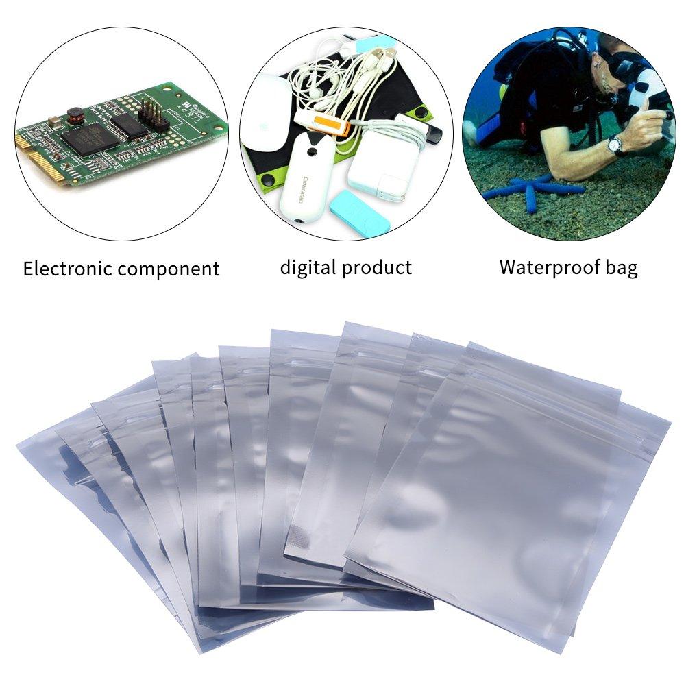Hilitand 100//Set Antistatisch Ziploc Staubbeutel 6/x 9/cm Antistatisch wiederverschlie/ßbaren Ziploc Aufbewahrungstasche Tasche f/ür elektronische Accessoires