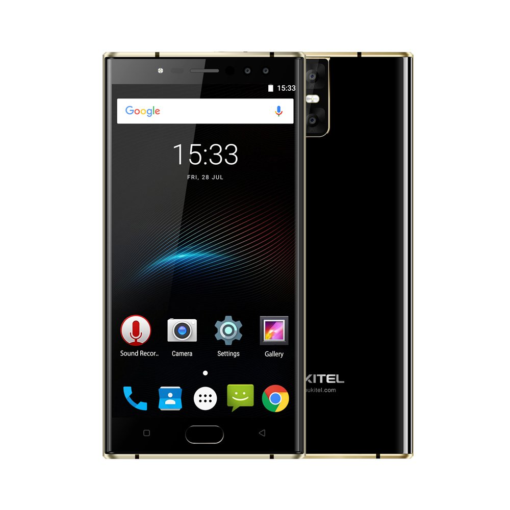 OUKITEL K3 Smartphone 4G Android 7.0 5.5 Pollici FHD MTK6750T Octa-core 1.5GHz 4GB RAM 64GB ROM 16.0MP+2.0MP 4 Macchine Fotografiche 6000mAh Batteria Carica Rapida Impronta Digitale GPS BT4.1 WiFi
