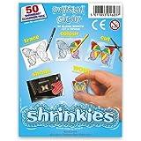 Original Shrinkles, Shrink Art Sheets Clear Classroom Pack (50 Sheets)