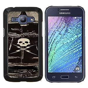 Stuss Case / Funda Carcasa protectora - Deathproof coche - Samsung Galaxy J1 J100