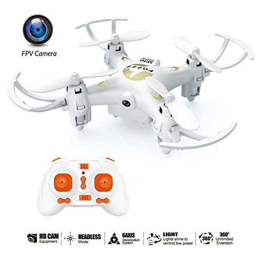 E-kinds Drone para niños, Quadrocopter Drone, cámara de 0.3MP, 6 ...