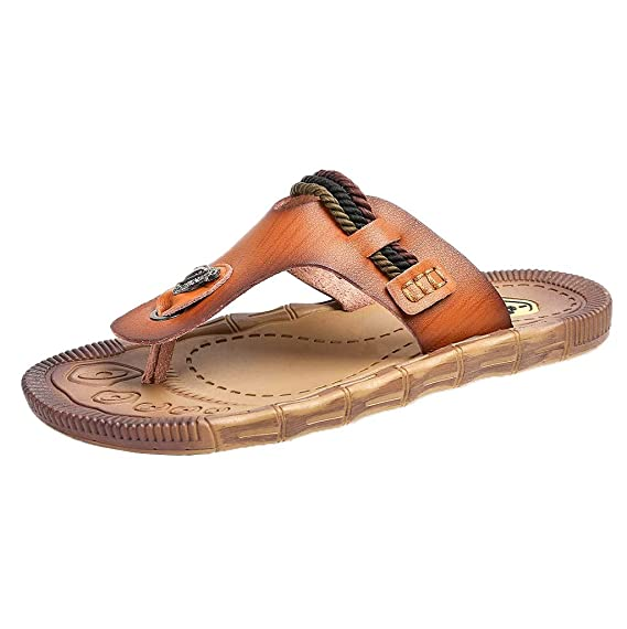 Pantofole Infradito da Spiaggia per Donna Casual da Uomo e da Donna.  Pantofole Leggere da Spiaggia Vovotrade Sandali Uomo  Amazon.it   Abbigliamento 7db3b986bc0