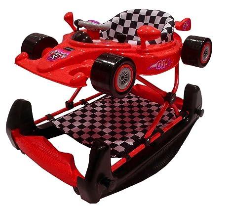 Coche de carreras bebé Walker/Rocker - rojo: Amazon.es: Bebé