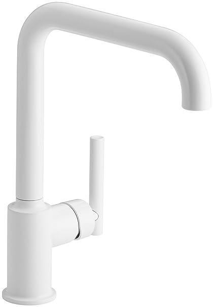 Kohler 7507 0 Purist Single Hole Kitchen Sink Faucet With 8