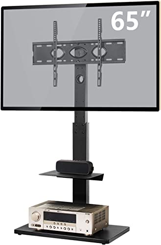 TAVR Swivel Corner Floor TV Stand