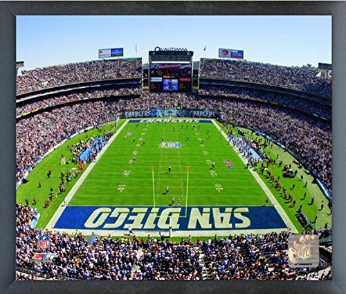 """Qualcomm Stadium San Diego Chargers Photo (Size: 17"""", used for sale  Delivered anywhere in USA"""