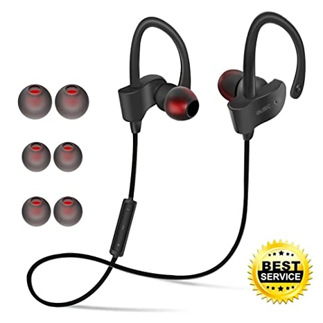 Auriculares Bluetooth Correr Inalambricos in Ear, Homapex Cascos Deportivos Bluetooth Manos Libres con Micrófono para