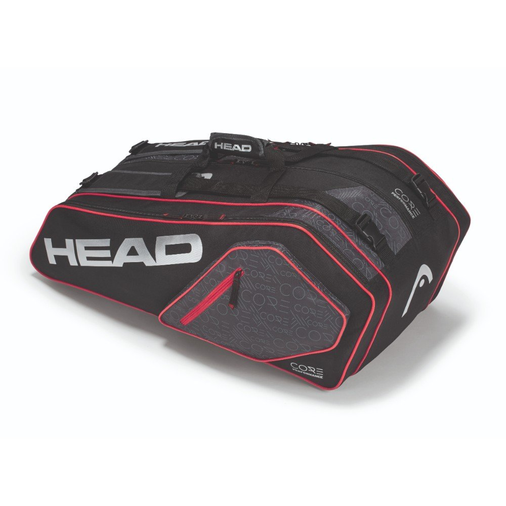 e27731fd2556 Buy Head Core 9r Supercombi Kit Bag (Black Silver) Online at Low Prices in  India - Amazon.in