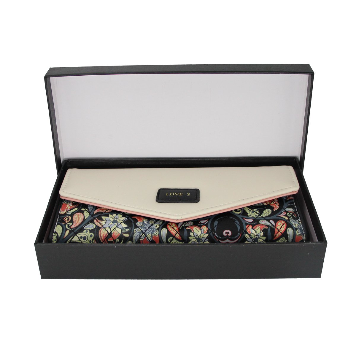 Womens Leather Wallet Purse Handbag Floral Money Clips Credit Card Case Holder by Uopen Endy (Image #7)