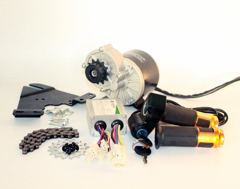 350W電動バイク左側駆動モーターキットマウンテンバイクコンバージョンキットカスタム電動モーターキットサスペンションバイク用 [並行輸入品] B076DSZNQM 24V350W