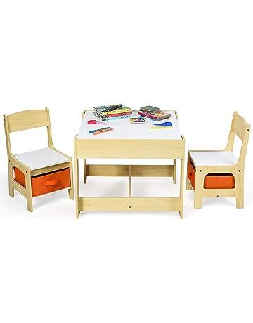 Ikea IB-Style Table de Pique-Nique pour Enfants avec 2/bancs en Bois Massif r/ésiste aux intemp/éries