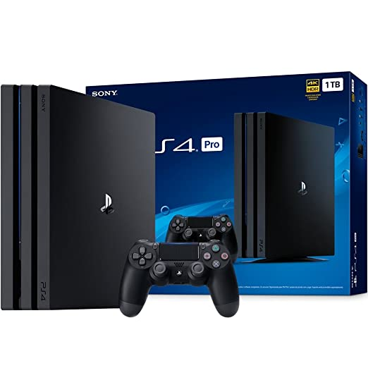 c3f539babeee8 Console PlayStation 4 - Pro 1 TB - Preto  Amazon.com.br  Games
