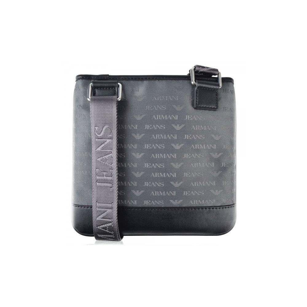 Armani Jeans 932527 AJ Branded Small Grey Side Bag  Amazon.co.uk  Shoes    Bags 3c5b3ece37