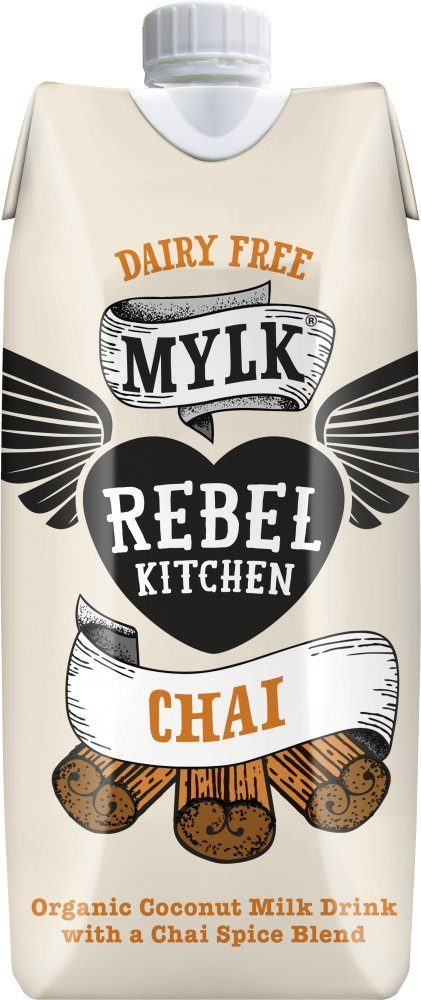 Rebel Kitchen Organic Coconut Milk Drink, Chai, 11 Ounce (Pack of 8)