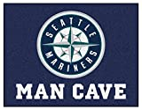 Seattle Mariners 34 x 42 Deluxe Man Cave Mat