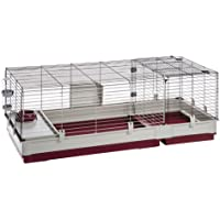 Ferplast 57072470 Krolik Extra-Large Rabbit Cage w/Wire Extenstion   Rabbit Cage Includes All Accessories & Measures 55…