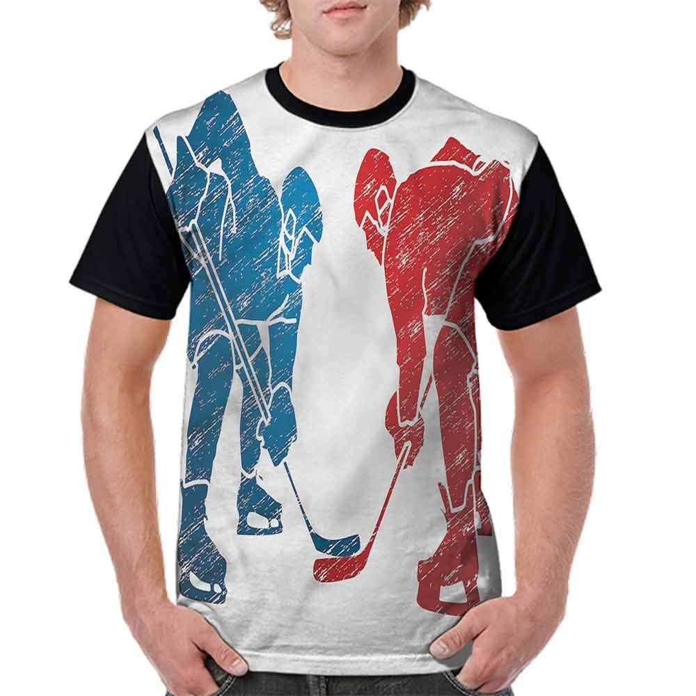 BlountDecor Performance T-Shirt,Hockey Players Hobby Activity Fashion Personality Customization