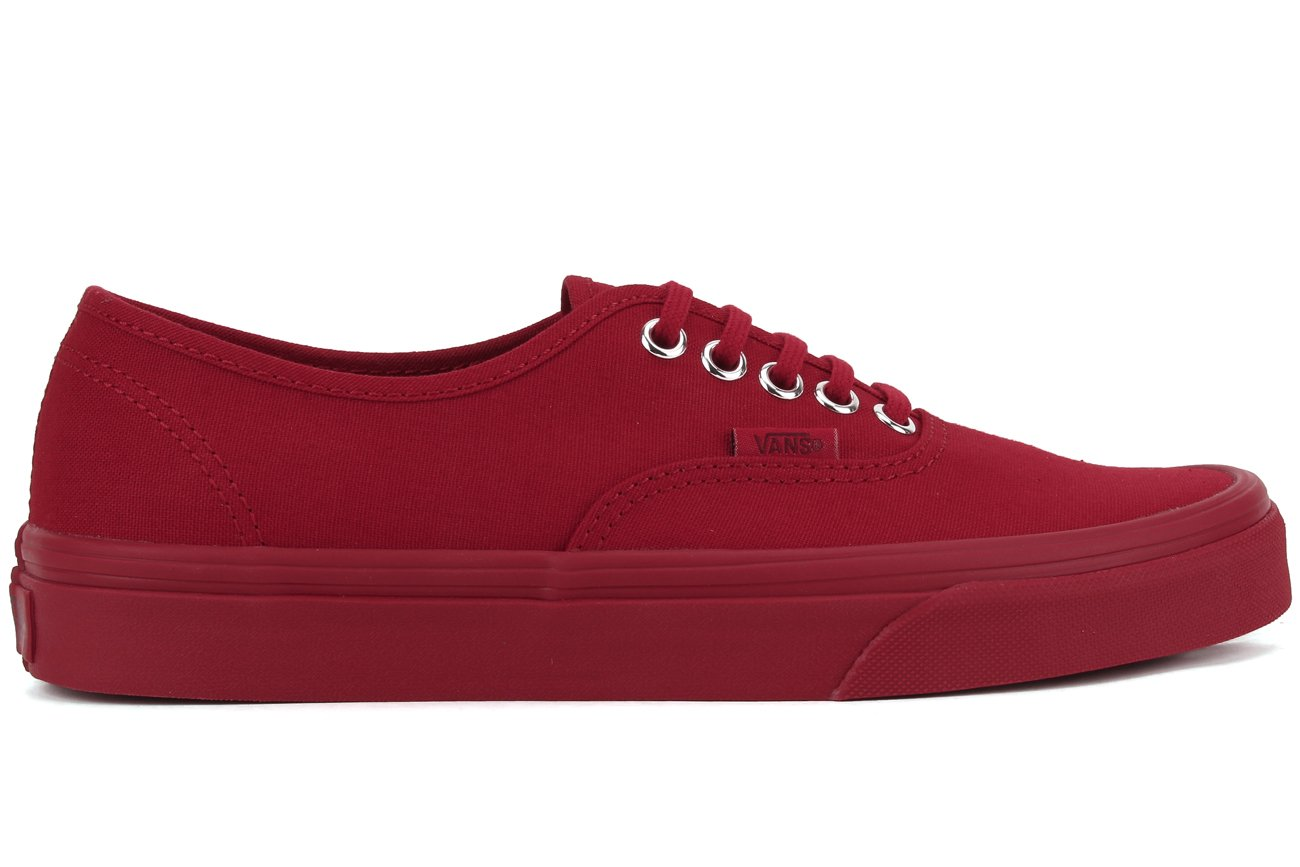 [バンズ] VANS VANS AUTHENTIC VEE3 B01I2B326W 12 B(M) US Women / 10.5 D(M) US Men|レッド/シルバー レッド/シルバー 12 B(M) US Women / 10.5 D(M) US Men