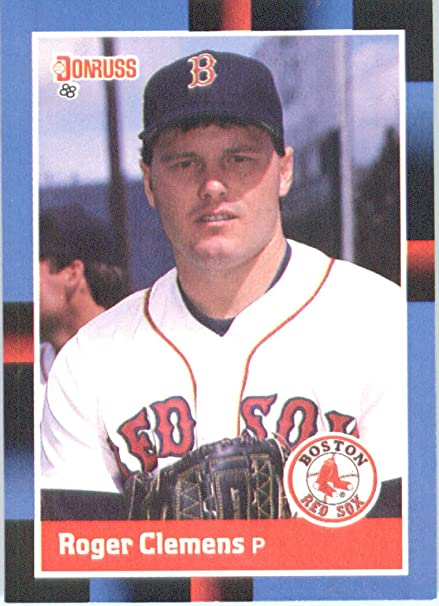 Amazoncom 1988 Donruss 51 Roger Clemens Boston Red Sox