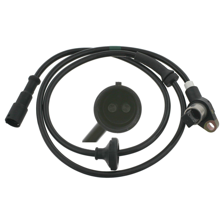 Hinterachse beidseitig Raddrehzahlf/ühler febi bilstein 24642 ABS-Sensor 1 St/ück Anschlusszahl 2