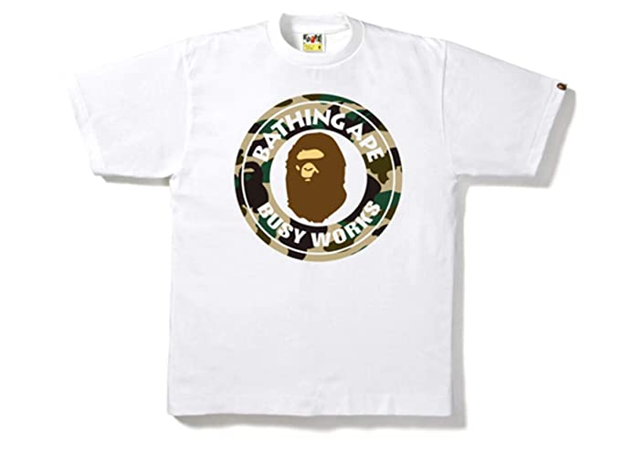 0f9cd7ab8 Amazon.com: Bape by Bathing Ape Mens Camo Mens Tee Shirt Authentic: Clothing