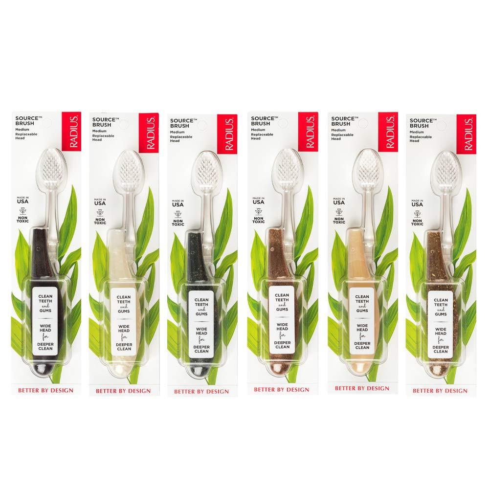 海外直送品Source Toothbrush, Medium, 1 Ct by Radius Toothbrushes B000TJSSVK