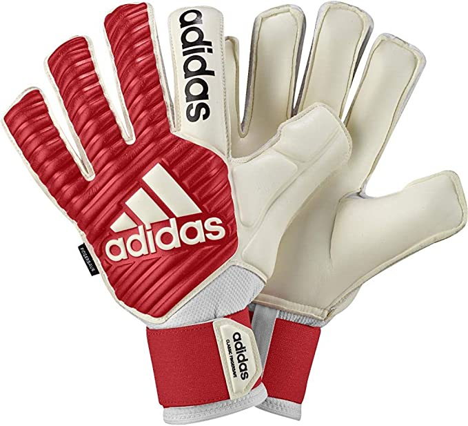 Y así Extraer natural  adidas Classic Fingersave Goalkeeper Gloves: Amazon.co.uk: Clothing