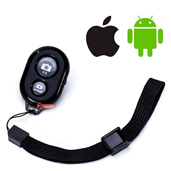 Zeadio Smartphone Bluetooth Remote Control for all Apple IOS and Samsung  Huawei Sony LG Google Android Devices - Convenient and Easy to Create  Amazing