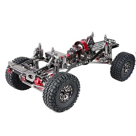 Amazon.com: AIDONG 1/10 Scale 4WD Rock Crawler Aluminum Aolly ...