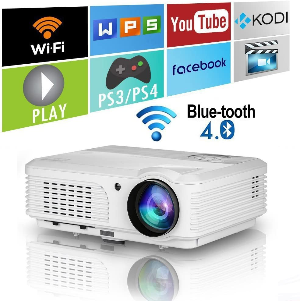 Video Projector 2020 Actualizado Android Smart WiFi Bluetooth ...