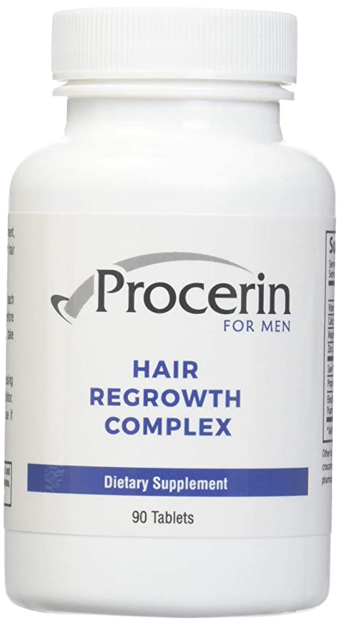 procerin caída del cabello vitaminas – Male Hair Growth Supplement – 3 month Supply (3