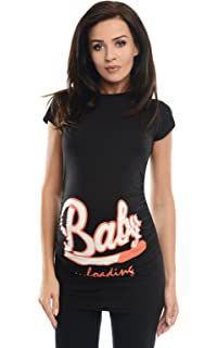 79fb7c8971a8f Purpless Maternity Top Pregnancy T-Shirt Tee for Pregnant Women Slogan  Loading Print 2006