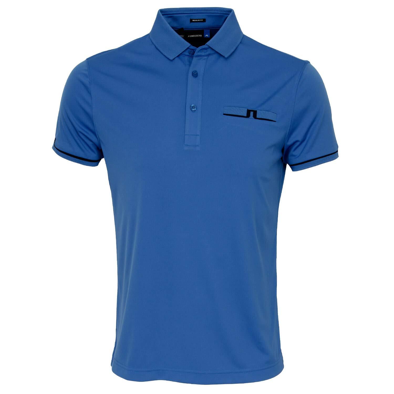 J.Lindeberg Mens Peter Tx Jersey Polo Shirt