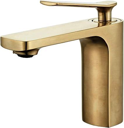 robinet salle de bain design moderne cuivre pur durable de robinet lavabo avec chaude et froide reglable de mitigeur lavabo convient pour salle bain