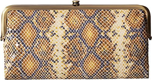 Hobo Womens Lauren Vintage Wallet Clutch Purse (Harvest Snake) by HOBO