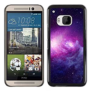 Stuss Case / Funda Carcasa protectora - Powerful Purple Illumination - HTC One M9
