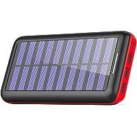 KEDRON Power Bank 24000mAh 3 Puertos de Salida y Entrada Doble Cargador Móvil Portátil Batería Externa para Tablet y Smartphones