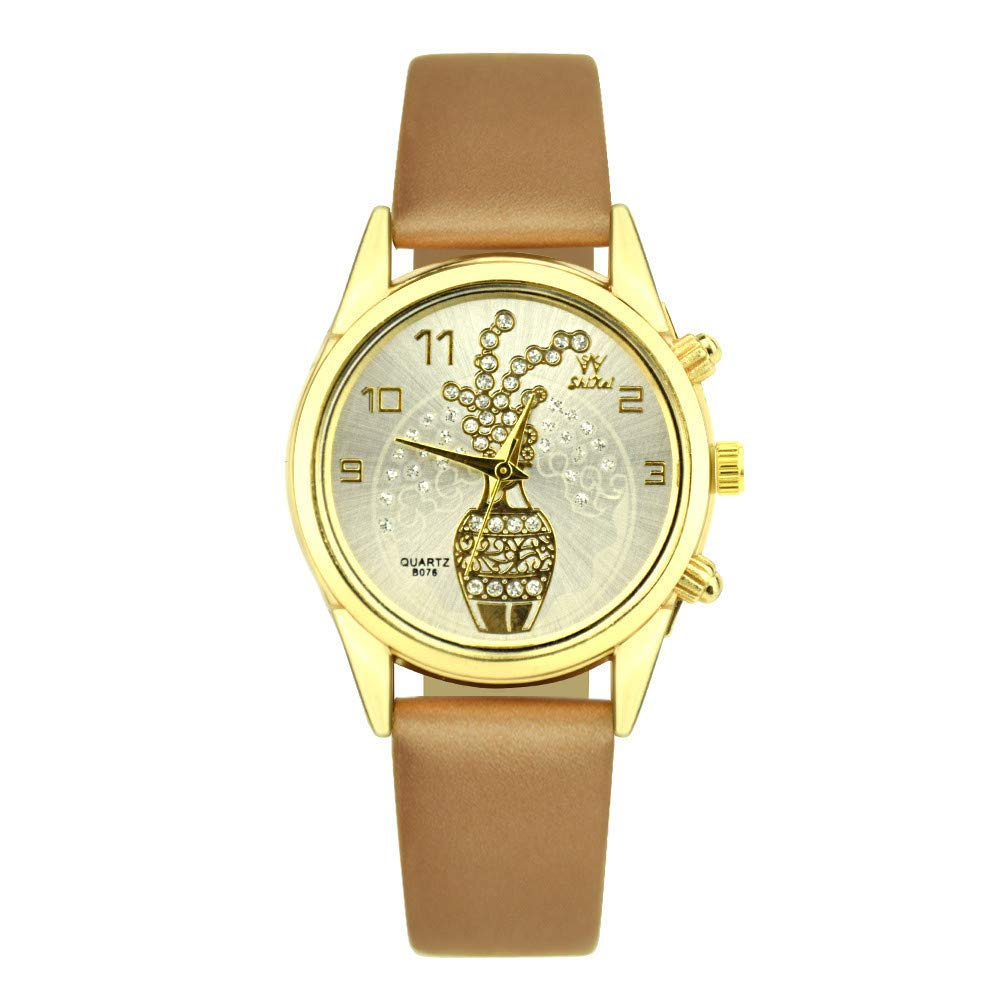 Relojes de Mujer, Reloj de Mujer,Reloj de Cuarzo Trend Style ...